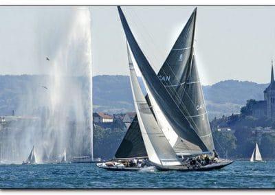 8MJi Lac léman société nautique de Geneve semaine voile