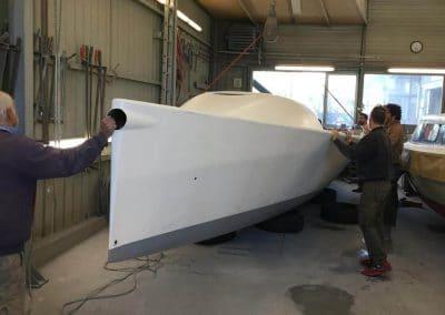 T Boat Eduis Complet au chantier naval Psaros