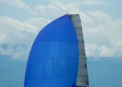 Psaros 40 Outsider 5 Test Spi Top voiles