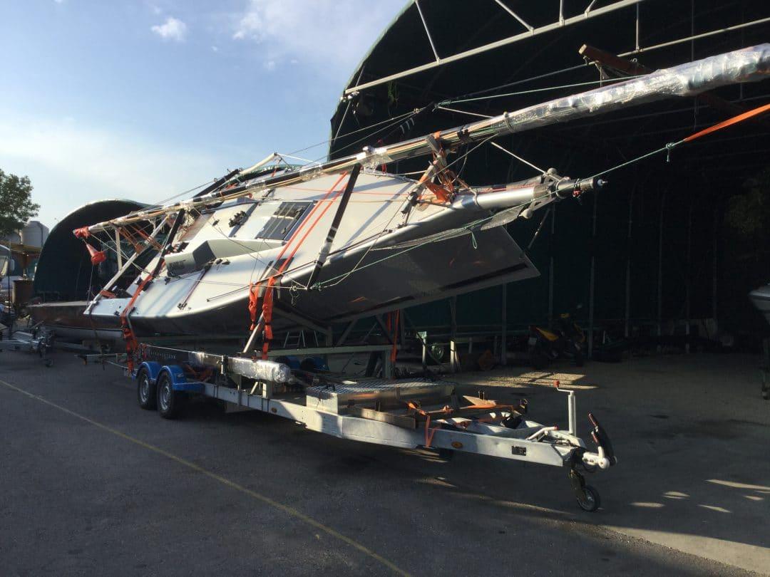 Psaros 33 Remorque Balbi Hivernage Transport