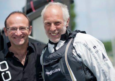 Psaros Luc Dubois et Jean Psarofaghis foiler Syz